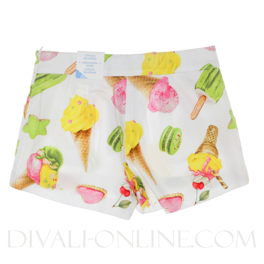 Shorts Ice Creams Off white