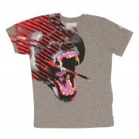 Marcelo Burlon T-shirt Fantasy animal Melange Grey
