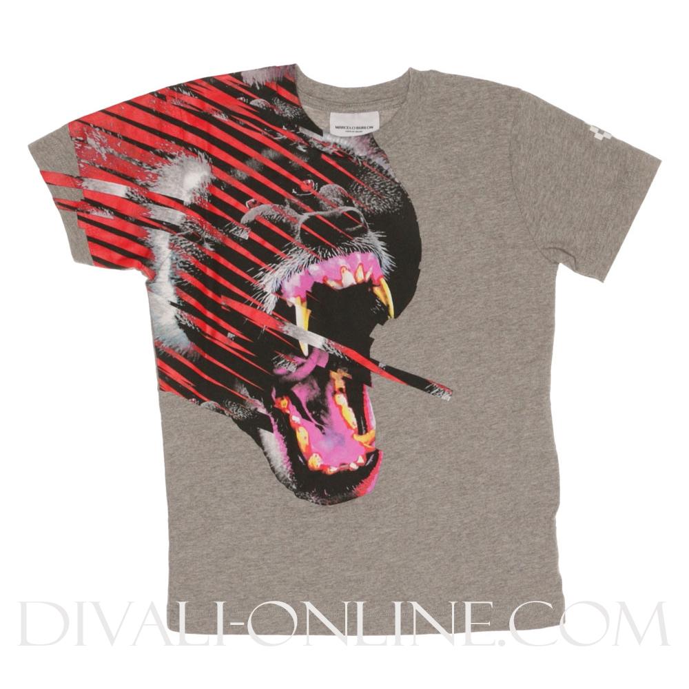 T-shirt Fantasy animal Melange Grey