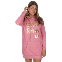 MET InJeans Sweatdress Pink Kiss Soizic