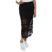 MET InJeans Skirt Marbelong Black