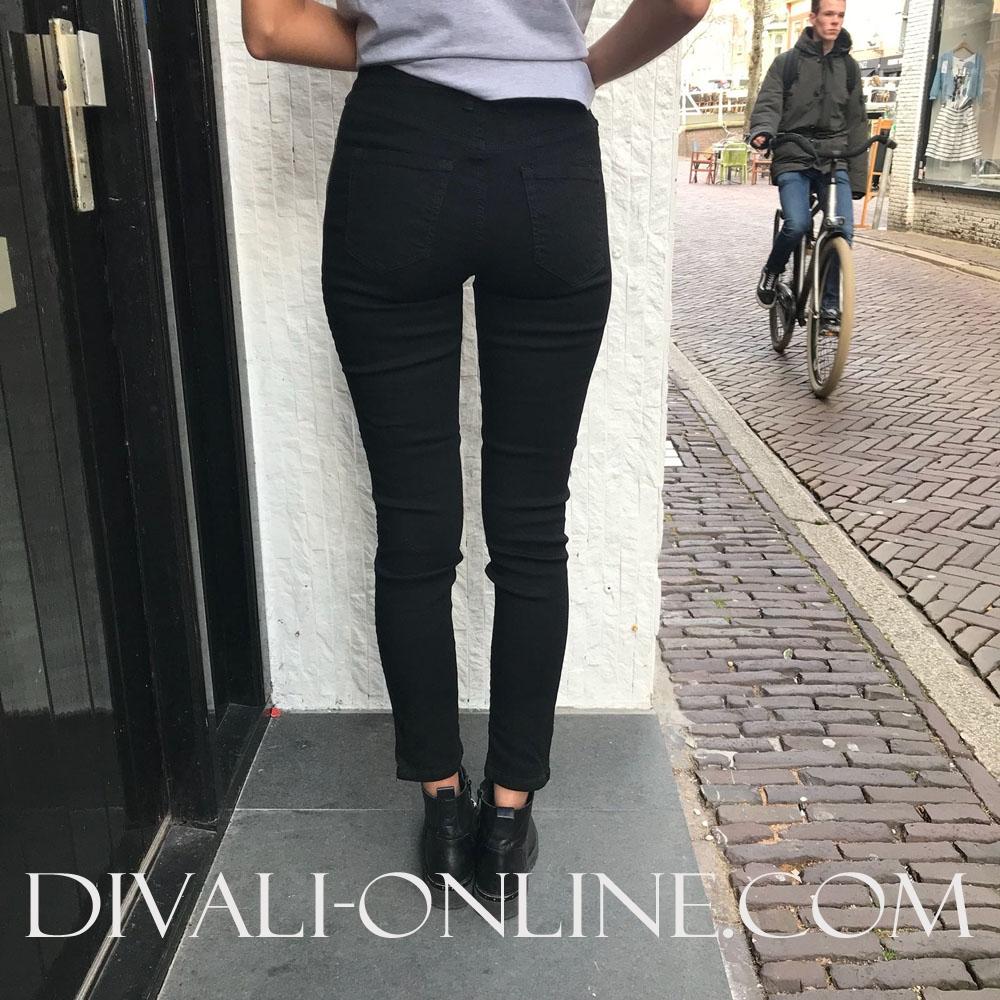 Skinny jeans X-Cortinazip Black