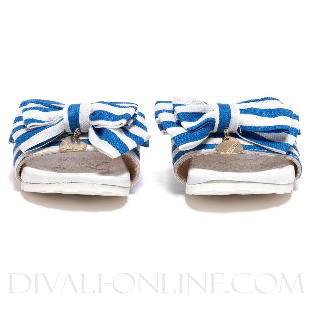 Badslipper Bow Marine White