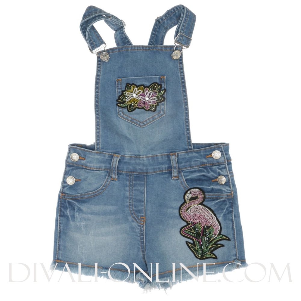 Salopette Jungle denim