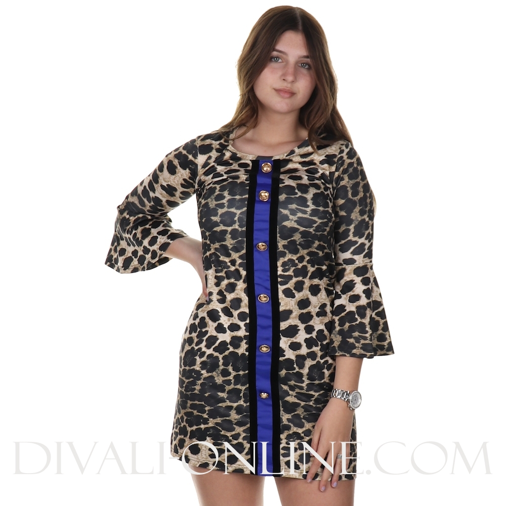 Dress Leopard Jenna