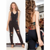 MET InJeans Kids Jumpsuit Leonor Black