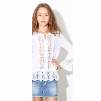 MET InJeans Kids Top Sima White