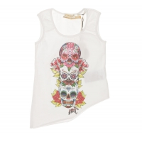 MET InJeans Kids Top Lory White