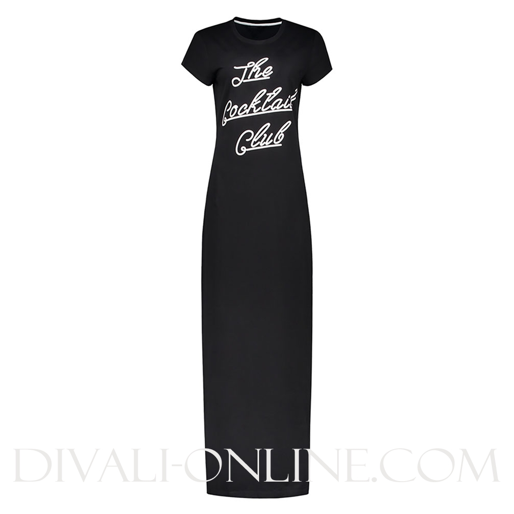 The Cocktail Club Maxi Dress Black