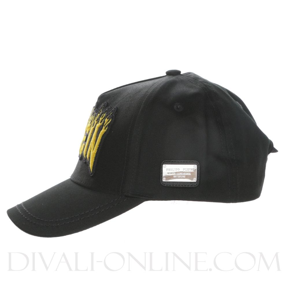 Baseball Cap Fire Black