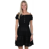 Wanderlust Conchita Dress Jet Black