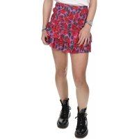 Wanderlust Cilly Skirt Rose Print Fuchsia