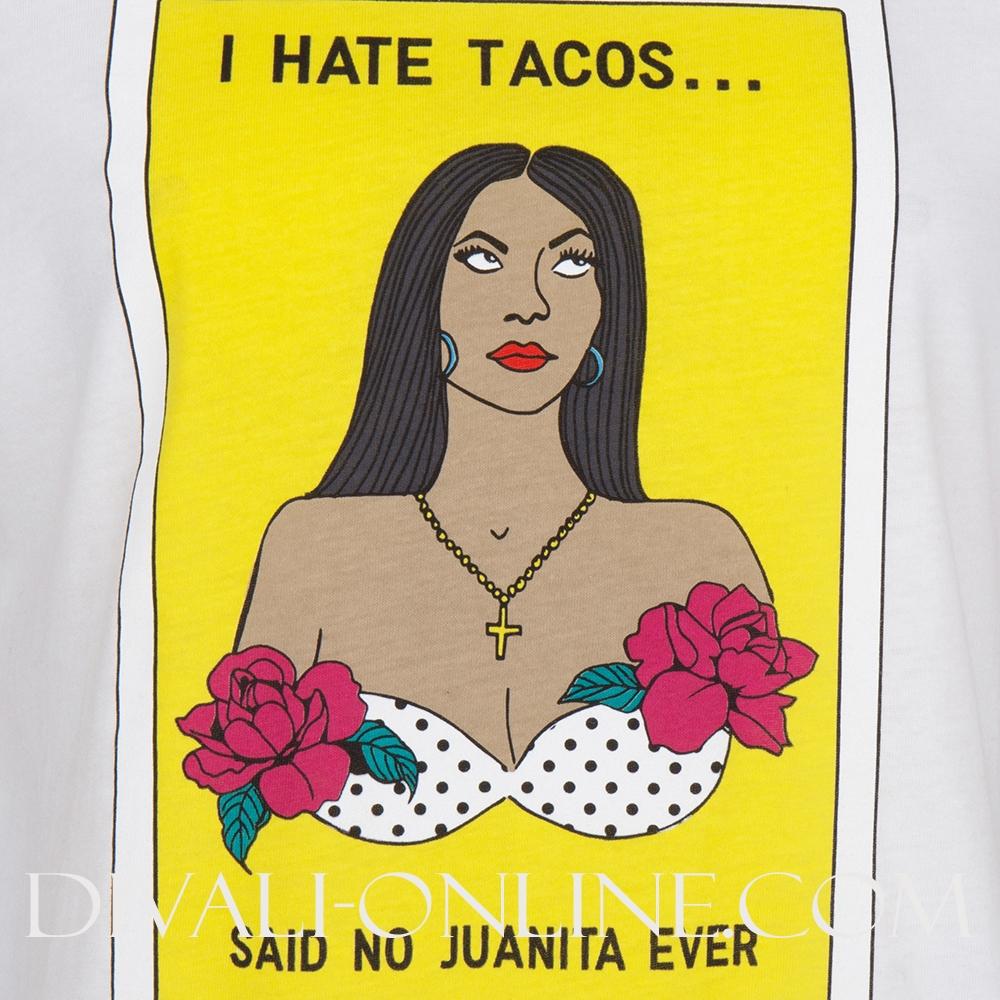 T-shirt Loteria White