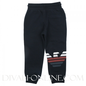Joggingbroek Navy Blue Logo