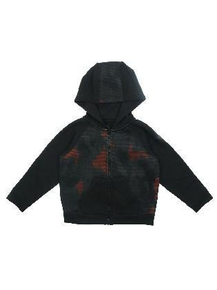 Vest met Capuchon Camo Oranje