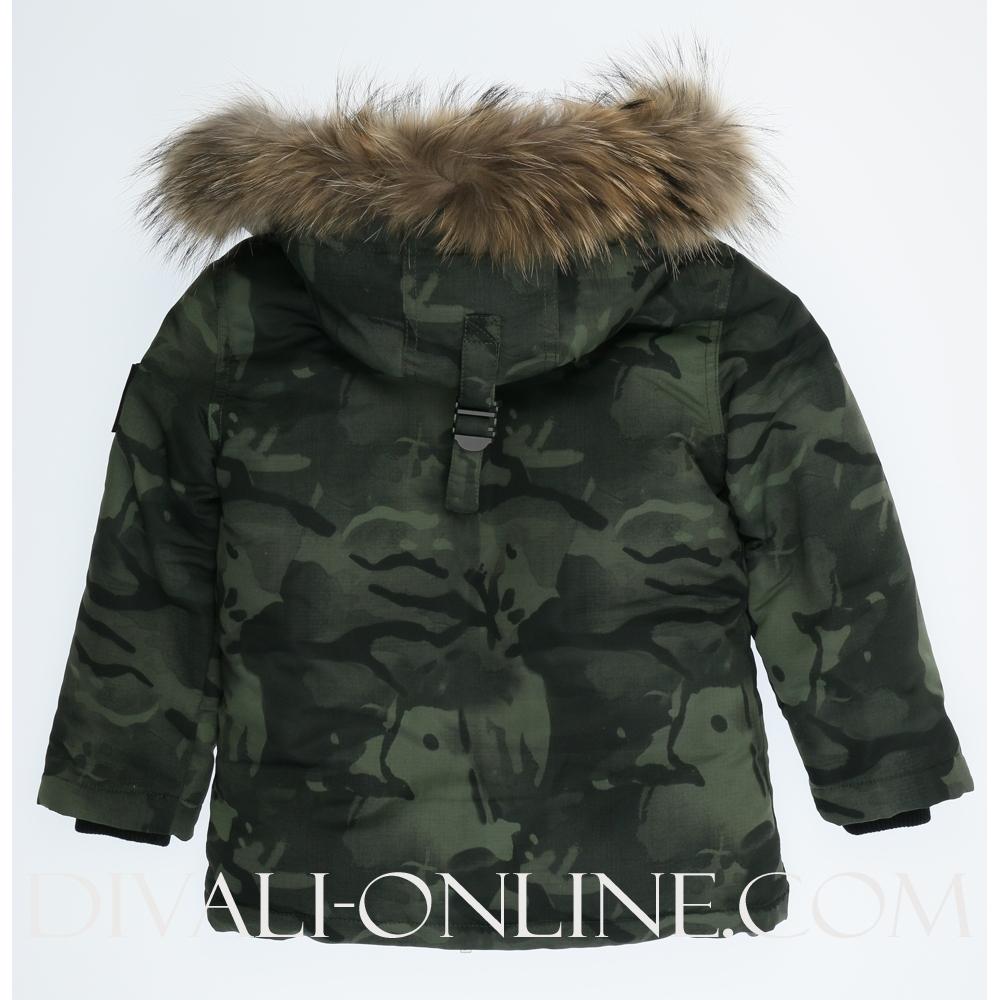 Winterjas Hubbard Camouflage army
