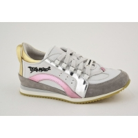 Sneaker White-pink-silver-gold