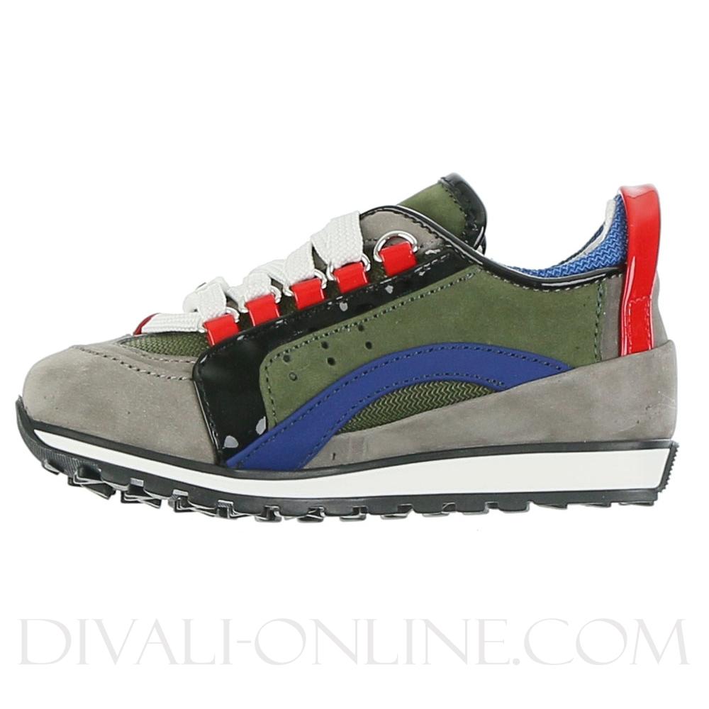 Sneaker Nabuk Grey Blue