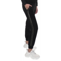 Elisabetta Franchi Girls Joggingbroek Black-gold