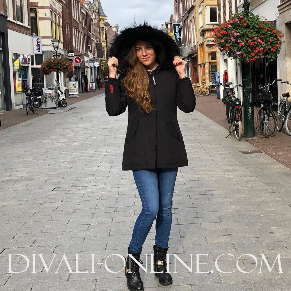 Winterjas Losanna Black