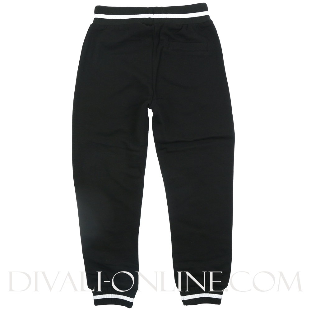 Joggingbroek Zwart Colour Taping