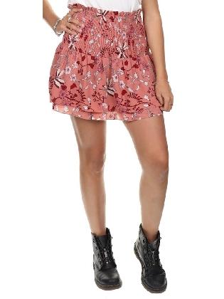 Skirt Blair Flower Dark Nude