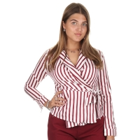 Lofty Manner Blouse Tilly red