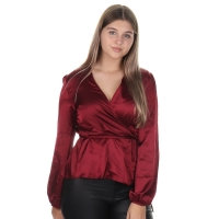 Lofty Manner Blouse Catharina Red