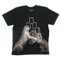 Marcelo Burlon T-Shirt Tiger Black