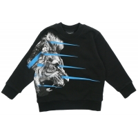 Marcelo Burlon Sweater Lion Black