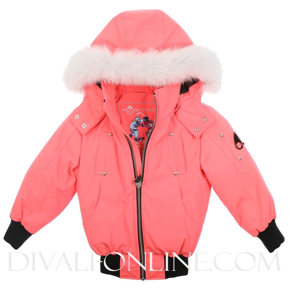 Winterjas Coral Pink
