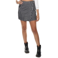 Maison Runway Rok Suze Black-white striped