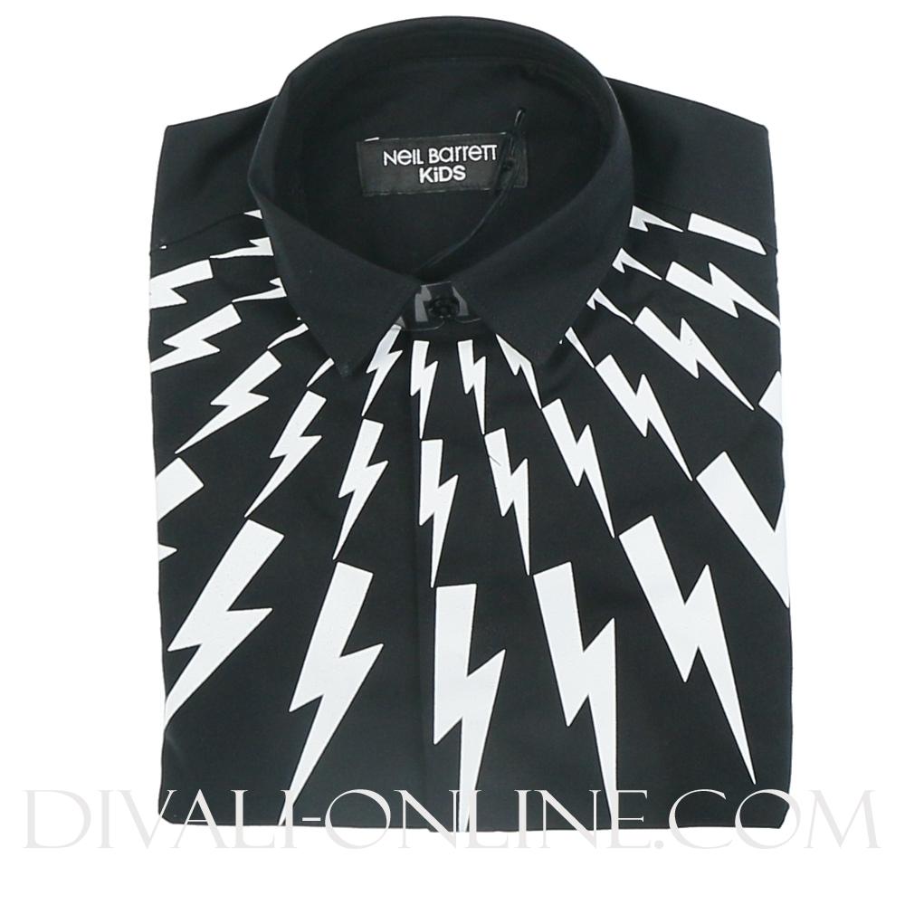 Overhemd Black Thunder