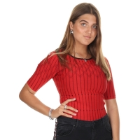 Nikkie By Nikkie Plessen Top Jenna Candy Red