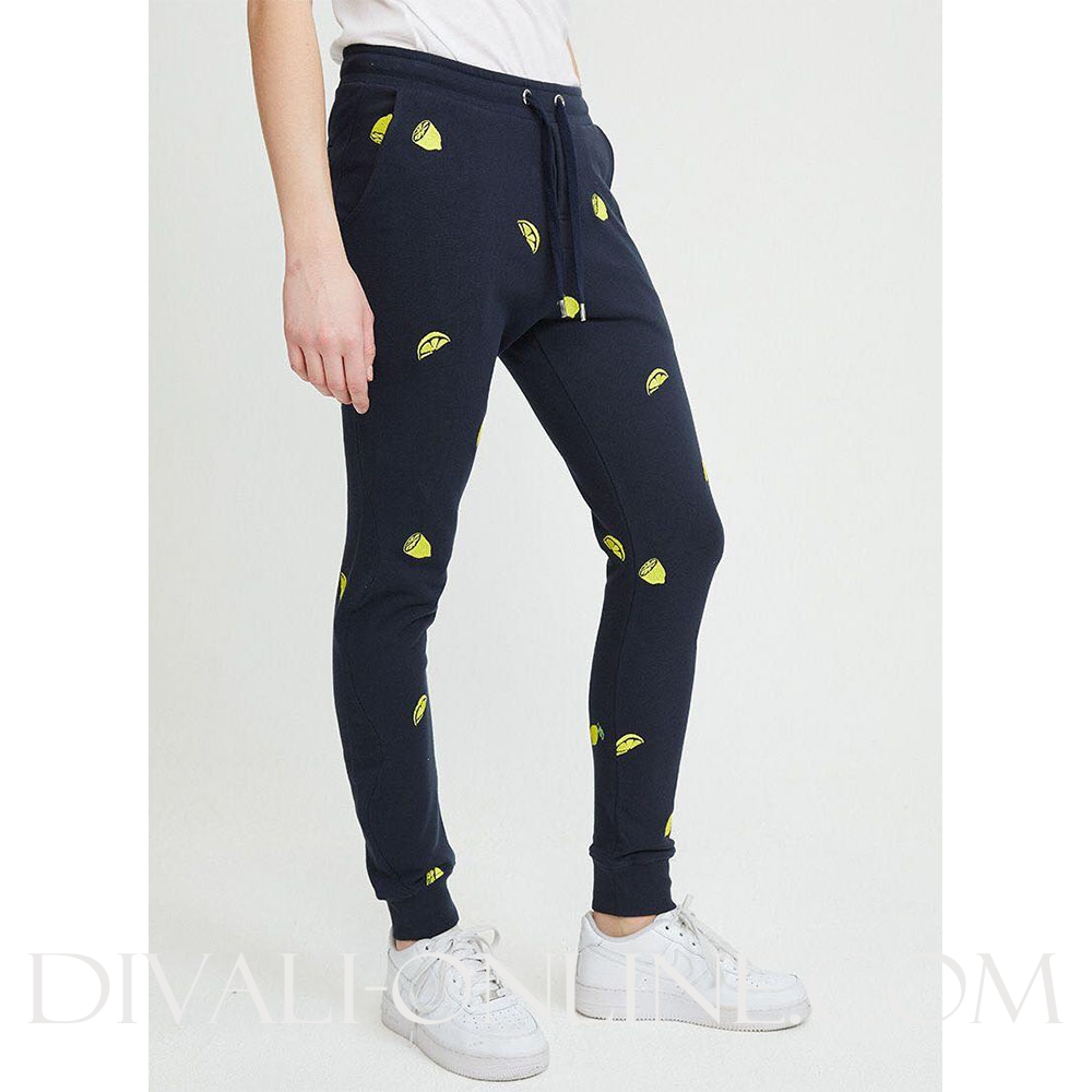 Joggingbroek Lemons All Over Blue