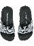 EA7 Slippers Logo Black White