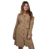 Delousion Dress Winter Beige