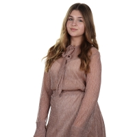 Delousion Top Sarah Rose Wrinkle