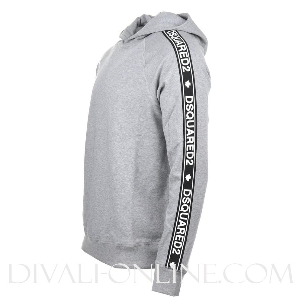 Hoodie Taping Grey