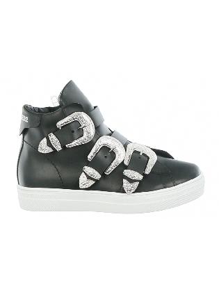Sneaker Gesp Black