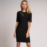 Fifth House Dress Love Black