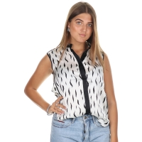 Fifth House Sisi Sleeveless Blouse Off White