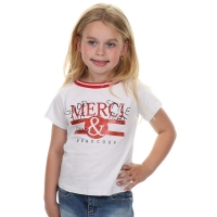 T-Shirt Merci Glitters Red White