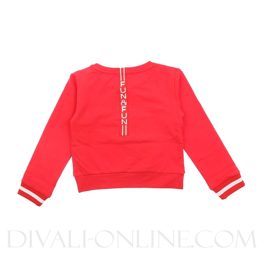 Sweater Merci Glitters Red