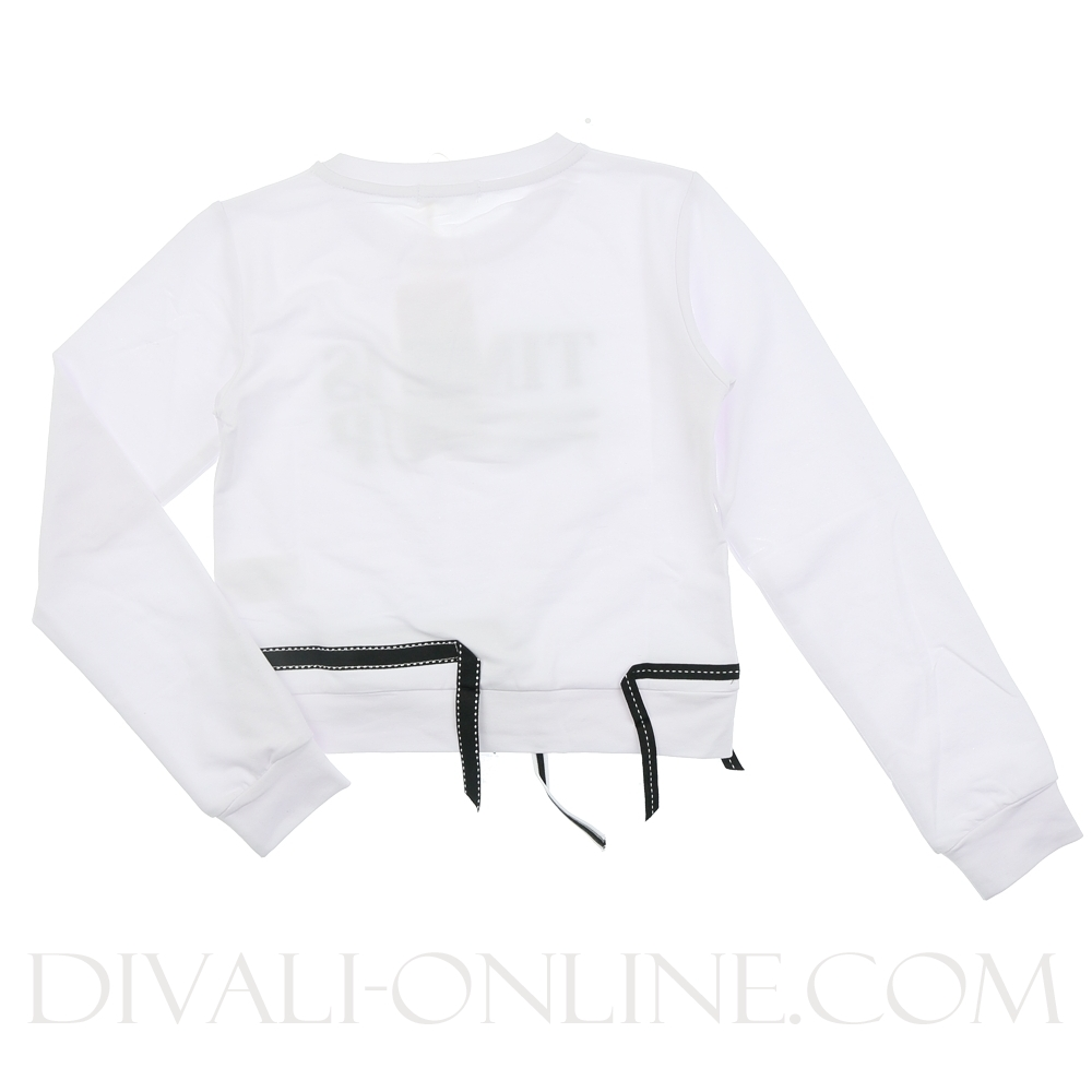 Sweater Time Is Up Off White