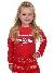 Fun&Fun Sweater Merci Glitters Red