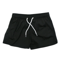 GCDS Swimshort Black White Logo