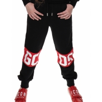 GCDS Sweatpants Black Red White