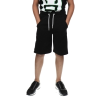 Short Sweatpants Logo Black