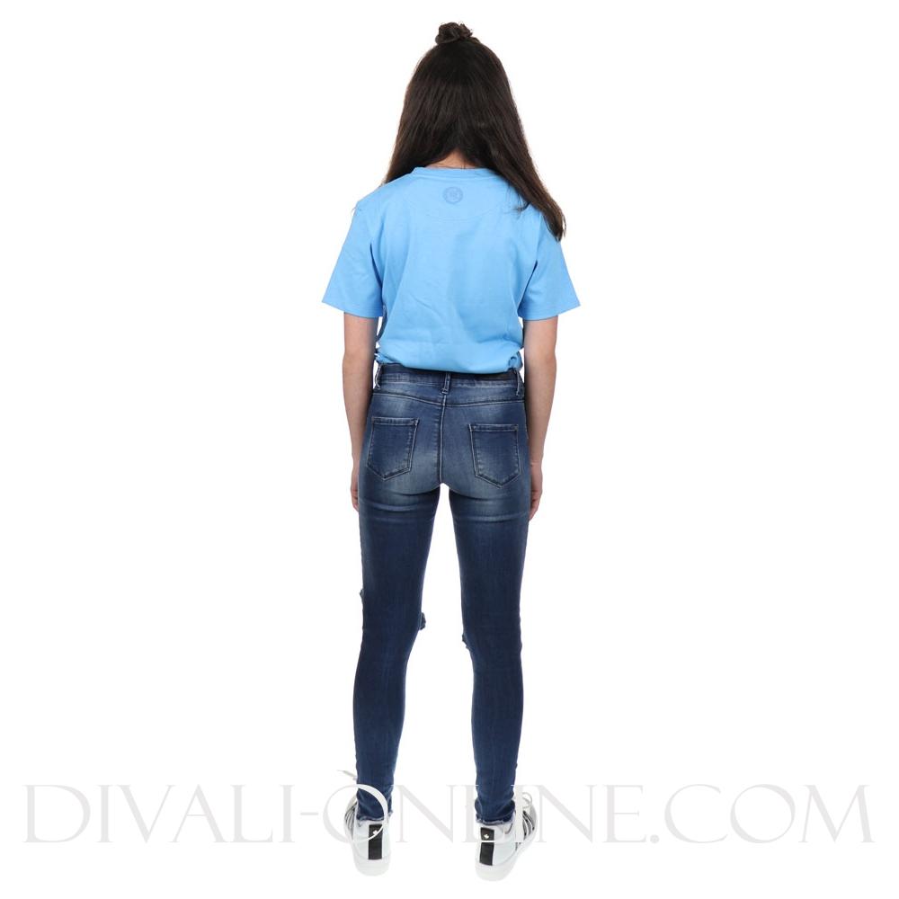 T-Shirt Unisex Logo Blue
